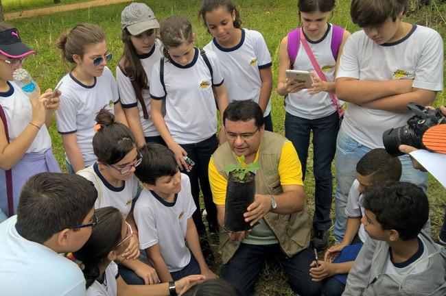 Amadeus e Embrapa promovem plantio e reciclagem na Semana do Meio Ambiente