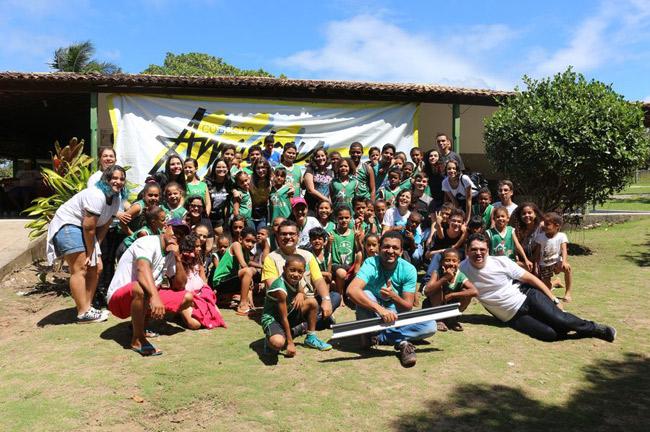 Projeto educacional da Grande Aracaju recebe Ecoponto e oficinas de sustentabilidade