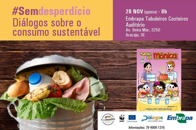 Colégio Amadeus participa do lançamento da Revista da Turma da Mônica contra desperdício de alimentos