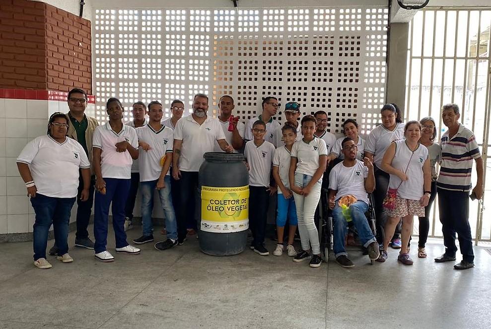 Faculdade e Colégio Amadeus sensibilizam alunos da rede estadual a participar do Programa de Educação Ambiental e Sustentabilidade
