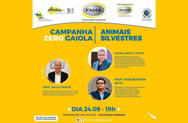 Embrapa apoia campanha contra tráfico de animais silvestres
