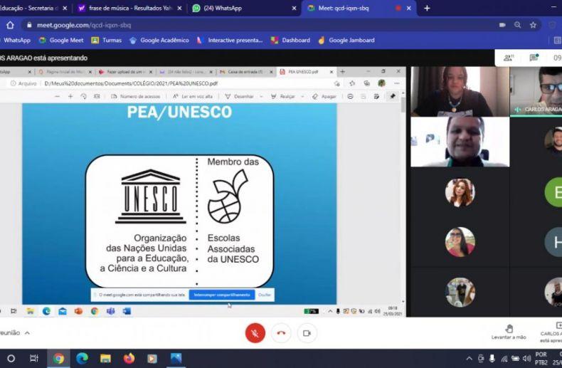 Rede PEA-Unesco coordenação Sergipe