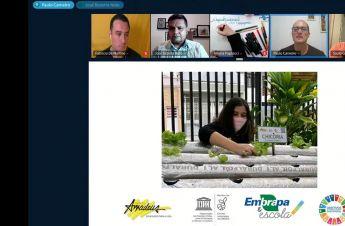 Bate-papo virtual compartilha conhecimentos sobre aquaponia residencial